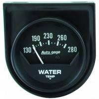 "Analog Gauges - Water Temperature Gauges - Auto Meter - Auto Gage Mechanical Water Temperature Gauge - 2-1/16"""