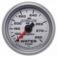 "Water Temp Gauges - Mechanical Water Temp Gauges - Auto Meter - Auto Meter 2-1/16"" Ultra-Lite II Water Temperature Gauge - 140-280°"