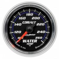 Water Temp Gauges - Electric Water Temp Gauges - Auto Meter - Auto Meter Cobalt Electric Water Temperature Gauge - 2-1/16""