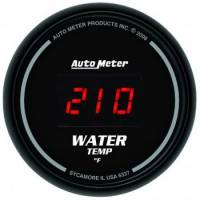 Gauges - Digital Water Temp Gauges - Auto Meter - Auto Meter Sport-Comp Digital Water Temperature Gauge - 2-1/16 in.