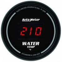 Digital Gauges - Digital Water Temperature Gauges - Auto Meter - Auto Meter Sport-Comp Digital Water Temperature Gauge - 2-1/16 in.