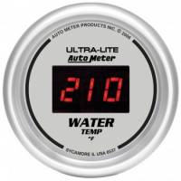 Gauges - Digital Water Temp Gauges - Auto Meter - Auto Meter Ultra-Lite Digital Water Temperature Gauge - 2-1/16 in.
