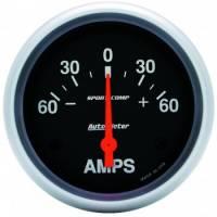 Gauges - Ammeter Gauges - Auto Meter - Auto Meter Sport-Comp Electric Ammeter Gauge - 60-0-60 Amps