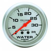 "Analog Gauges - Water Pressure Gauges - Auto Meter - Auto Meter 2-5/8"" Water Pressure Gauge - 0-35 PSI"