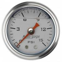 "Gauges and Data Acquisition - Auto Meter - Auto Gage Fuel Pressure Gauge - 1-1/2"""