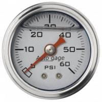 "Cockpit & Interior - Auto Meter - Auto Gage Fuel Pressure Gauge - 1-1/2"""