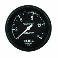 Fuel Pressure Gauges - Mechanical Fuel Pressure Gauges - Auto Meter - Auto Gage Fuel Pressure Gauge - 2-5/8""