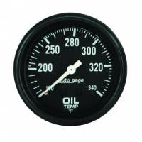 Oil Pressure Gauges - Mechanical Oil Pressure Gauges - Auto Meter - Auto Gage Oil Temperature Gauge - 2-5/8""