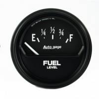 Auto Meter - Auto Gage Fuel Level Gauge - 2-5/8 in.