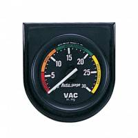 Analog Gauges - Vacuum Gauges - Auto Meter - Auto Gage Vacuum Gauge Panel - 2-1/16""