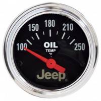 Transmission Temp Gauges - Mechanical Transmission Temp Gauges - Auto Meter - Auto Meter 2-1/16 Transfer Case Temp Gauge - Jeep Series