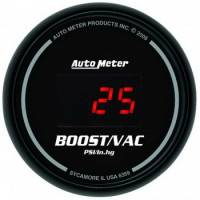 Gauges - Digital Boost / Vacuum Gauges - Auto Meter - Auto Meter Sport-Comp Digital Boost/Vacuum Gauge - 2-1/16 in.