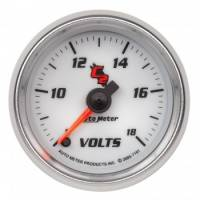 Analog Gauges - Voltmeters - Auto Meter - Auto Meter C2 Electric Voltmeter Gauge - 2-1/16""