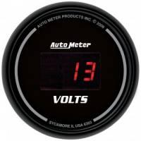 """Digital Gauges - Digital Voltmeter Gauges - Auto Meter - Auto Meter Sport-Comp Digital Voltmeter Gauge - 2-1/16"""""""