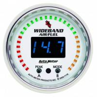 Gauges - Digital Air / Fuel Ratio Gauges - Auto Meter - Auto Meter C2 Wide Band Air / Fuel Ratio Kit - 2-1/16 in.