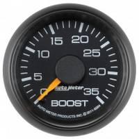 Gauges - Pressure Gauges - Auto Meter - Auto Meter 2-1/16 Boost Pressure Gauge - GM Diesel Truck