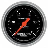 Digital Gauges - Digital Air/Fuel Ratio Gauges - Auto Meter - Auto Meter 2-1/16 Sport-Comp Wideband Pro Air/Fuel Gauge