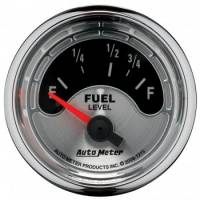Gauges - Fuel Level Gauges - Auto Meter - Auto Meter American Muscle Fuel Level Gauge - 2-1/16 in.