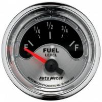 Gauges - Fuel Level Gauges - Auto Meter - Auto Meter American Muscle Fuel Level Gauge - 2-1/16 in.