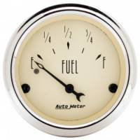 Gauges - Fuel Level Gauges - Auto Meter - Auto Meter Antique Beige Fuel Level Gauge - 2-1/16 in.