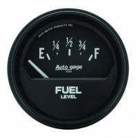 Auto Meter - Auto Gage Fuel Level Gauge - 2-5/8 in.