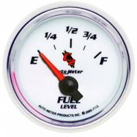 Gauges - Fuel Level Gauges - Auto Meter - Auto Meter C2 Electric Fuel Level Gauge - 2-1/16 in.