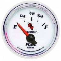 Gauges - Fuel Level Gauges - Auto Meter - Auto Meter C2 Electric Fuel Level Gauge - 2-1/16 in.