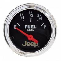 Gauges - Fuel Level Gauges - Auto Meter - Auto Meter 2-1/16 Fuel Level Gauge 0-90Ohms - Jeep Series