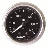 Oil Pressure Gauges - Mechanical Oil Pressure Gauges - Auto Meter - Auto Meter Cobra Mechanical Oil Temperature Gauge - 2-1/16""