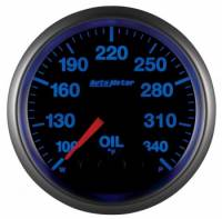 Analog Gauges - Oil Temperature Gauges - Auto Meter - Auto Meter Elite Series Oil Temperature Gauge - 2-1/16""