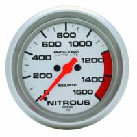 Air & Fuel System - Auto Meter - Auto Meter Ultra-Lite Electric Nitrous Pressure Gauge - 2-5/8 in.