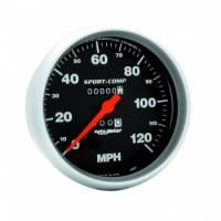 Speedometers - Mechanical Speedometers - Auto Meter - Auto Meter Sport-Comp In-Dash Mechanical Speedometer - 5 in.