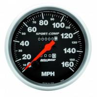 Speedometers - Mechanical Speedometers - Auto Meter - Auto Meter Sport-Comp In-Dash Mechanical Speedometer - 5 in.