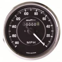 Speedometers - Mechanical Speedometers - Auto Meter - Auto Meter Cobra In-Dash Mechanical Speedometer - 4 in.