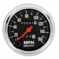 Speedometers - Mechanical Speedometers - Auto Meter - Auto Meter Traditional Chrome - Mechanical Speedometer - 3-3/8 in.