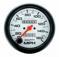 Speedometers - Mechanical Speedometers - Auto Meter - Auto Meter Phantom In-Dash Mechanical Speedometer - 3-3/8 in.