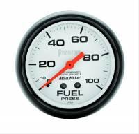 "Fuel Pressure Gauges - Mechanical Fuel Pressure Gauges - Auto Meter - Auto Meter Phantom Mechanical Fuel Pressure Gauge - 2-5/8"""