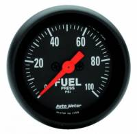 "Fuel Pressure Gauges - Electric Fuel Pressure Gauges - Auto Meter - Auto Meter Z-Series Electric Fuel Pressure Gauge - 2-1/16"""