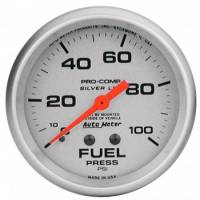"Fuel Pressure Gauges - Mechanical Fuel Pressure Gauges - Auto Meter - Auto Meter Liquid-Filled Fuel Pressure Gauges - 2-5/8"" - 0-100 PSI"