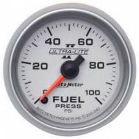 "Fuel Pressure Gauges - Electric Fuel Pressure Gauges - Auto Meter - Auto Meter Ultra-Lite II Electric Fuel Pressure Gauge - 2-1/16"""