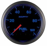Fuel Pressure Gauges - Electric Fuel Pressure Gauges - Auto Meter - Auto Meter Elite Series Fuel Pressure Gauge - 2-1/16""