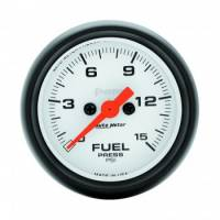 "Fuel Pressure Gauges - Electric Fuel Pressure Gauges - Auto Meter - Auto Meter Phantom Electric Fuel Pressure Gauge - 2-1/16"" - 0-15 PSI"