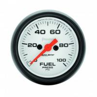 Fuel Pressure Gauges - Electric Fuel Pressure Gauges - Auto Meter - Auto Meter Phantom Electric Fuel Pressure Gauge - 2-1/16""