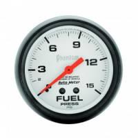 Gauges & Gauge Panels - Fuel Pressure Gauge - Auto Meter - Auto Meter Phantom uel Pressure Gauge - 2-5/8 - F0-15 PSI