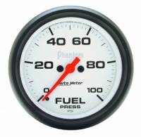 Fuel Pressure Gauges - Electric Fuel Pressure Gauges - Auto Meter - Auto Meter Phantom Electric Fuel Pressure Gauge - 2-5/8""