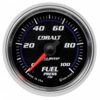 Fuel Pressure Gauges - Electric Fuel Pressure Gauges - Auto Meter - Auto Meter Cobalt Electric Fuel Pressure Gauge - 2-1/16""