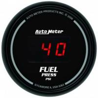 Gauges - Digital Fuel Pressure Gauges - Auto Meter - Auto Meter Sport-Comp Digital Fuel Pressure Gauge - 2-1/16 in.