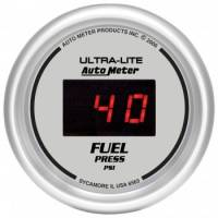 Gauges - Digital Fuel Pressure Gauges - Auto Meter - Auto Meter Ultra-Lite Digital Fuel Pressure Gauge - 2-1/16 in.