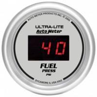 Gauges - Digital Fuel Pressure Gauges - Auto Meter - Auto Meter Ultra-Lite Digital Fuel Pressure Gauge - 2-1/16 in.