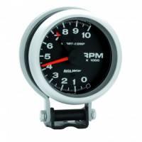 "Standard Tachometers - Pedestal Standard Tachs - Auto Meter - Auto Meter 10,000 RPM Sport-Comp Tachometer - 3-3/4"""